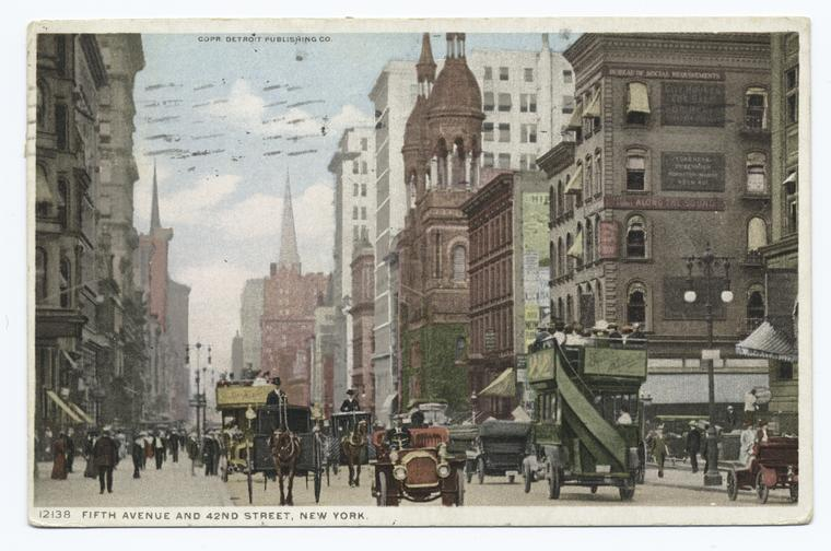 Old New York in Postcards #1