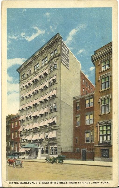 Old New York in Postcards #2 – Old Hotels Of New York City