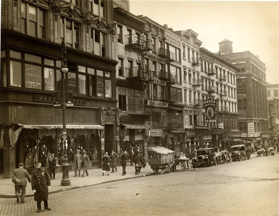 Old New York in Photos #2 - Canal Street
