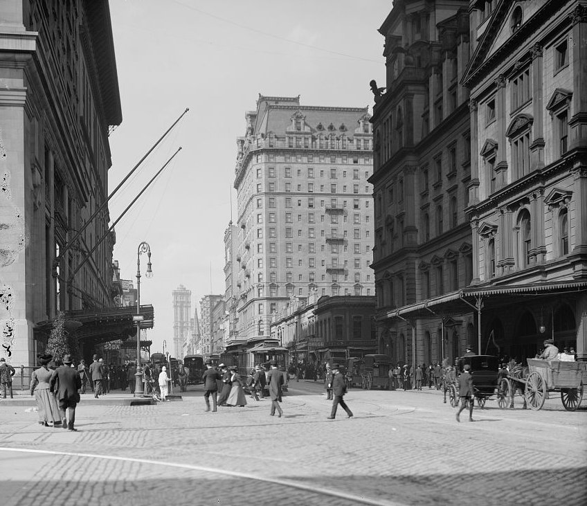 42nd Street 1910 Photo Detroit Publishing Co.
