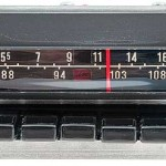 Dodge Dart radio