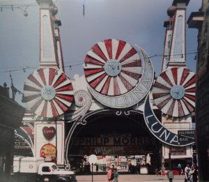 Coney Island Luna Park entrance 1942
