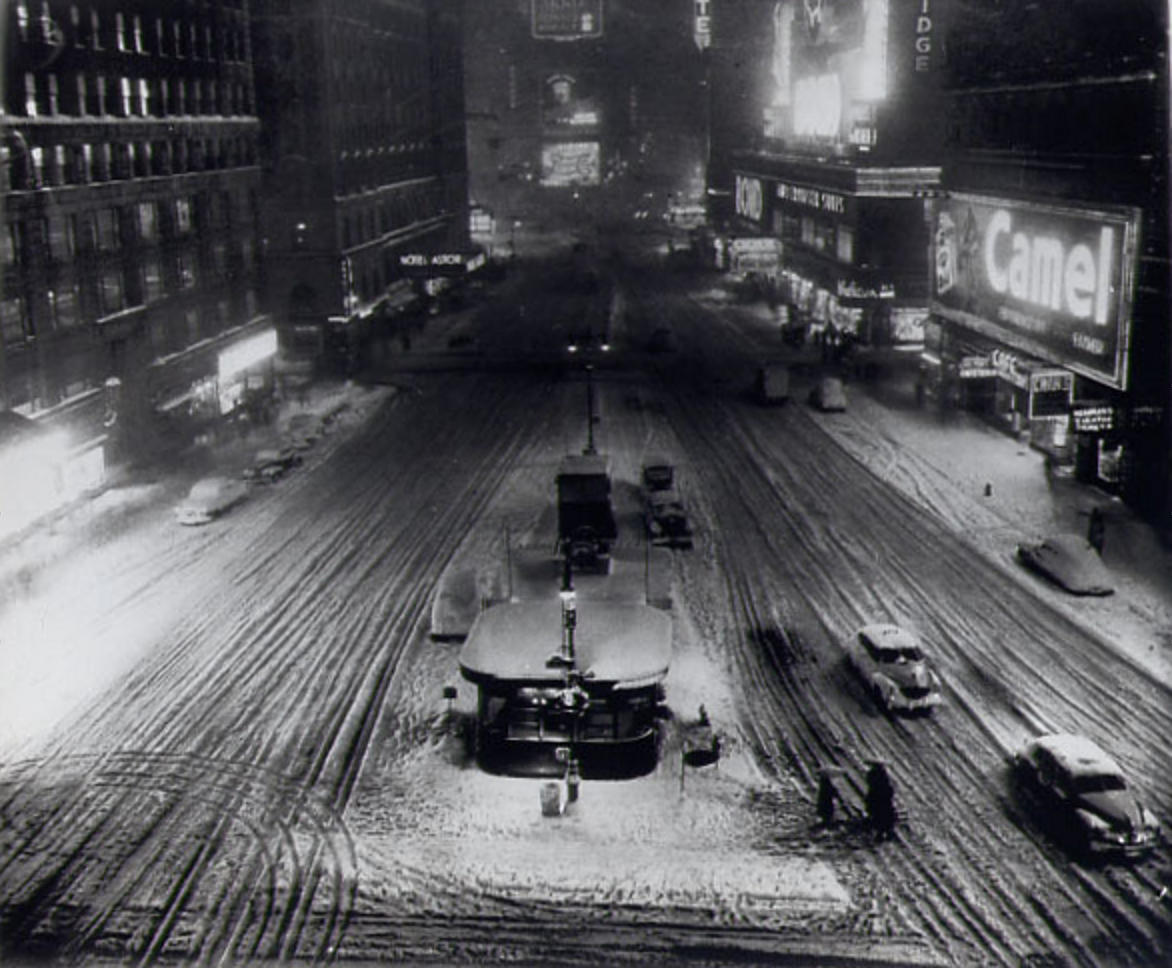 New York's Big Snowstorm Of 1948