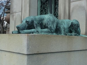 Michel Masoleum Dog
