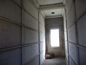 Interior Gilsey mausoleum