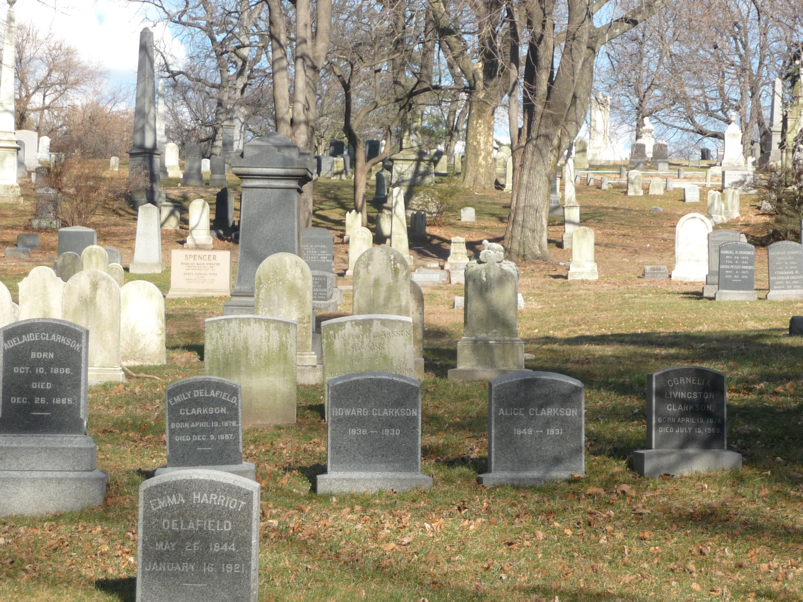 A Photographic Trip To Green-Wood Cemetery Part 1