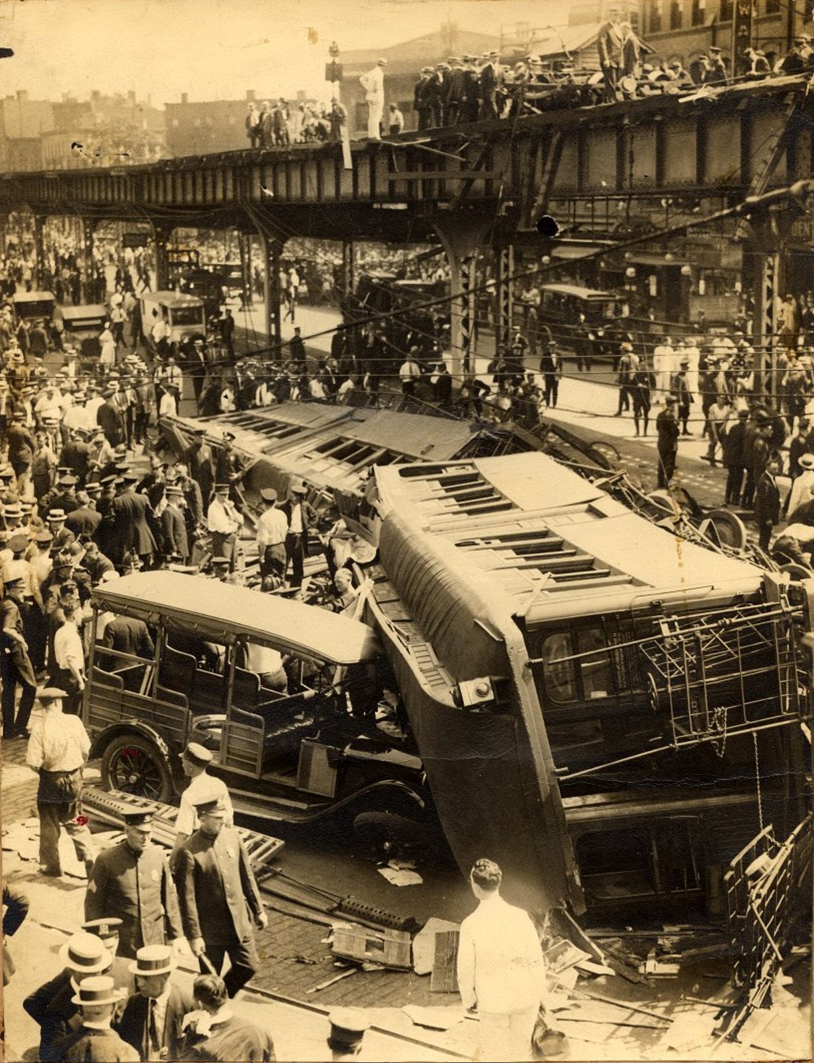The Forgotten Brooklyn Elevated Train Crash Of 1923