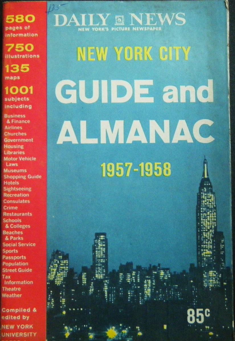The Dangers And Lures Of New York City 1957