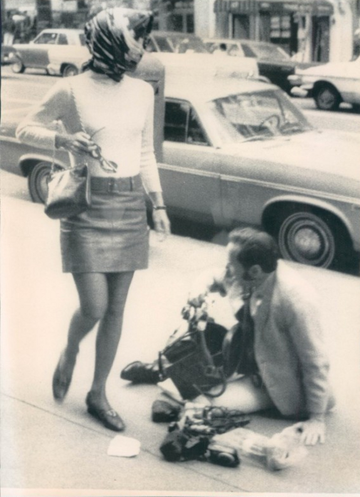 Jackie Kennedy Flips A Photographer 10 5 1969