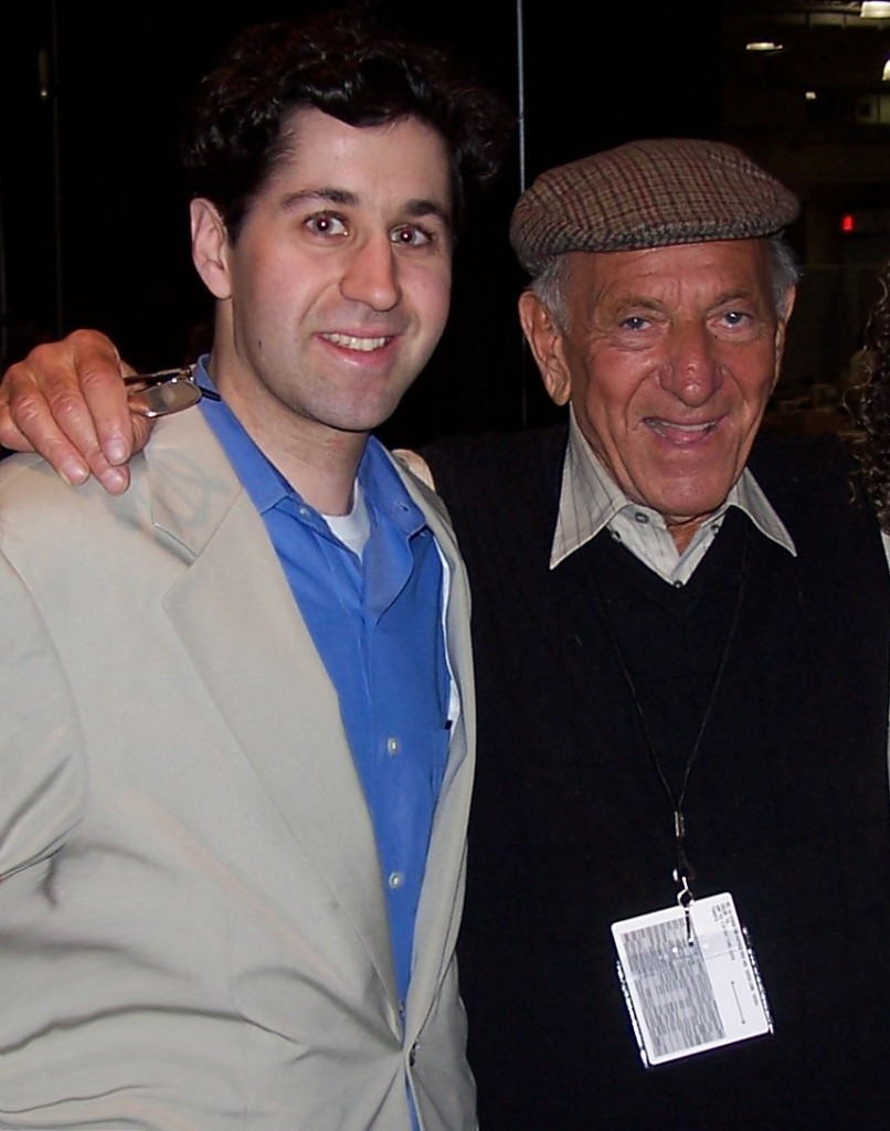 Jack Klugman with son Adam Klugman promoting Tony and Me 2005 © stuffnobodycaresabout.com