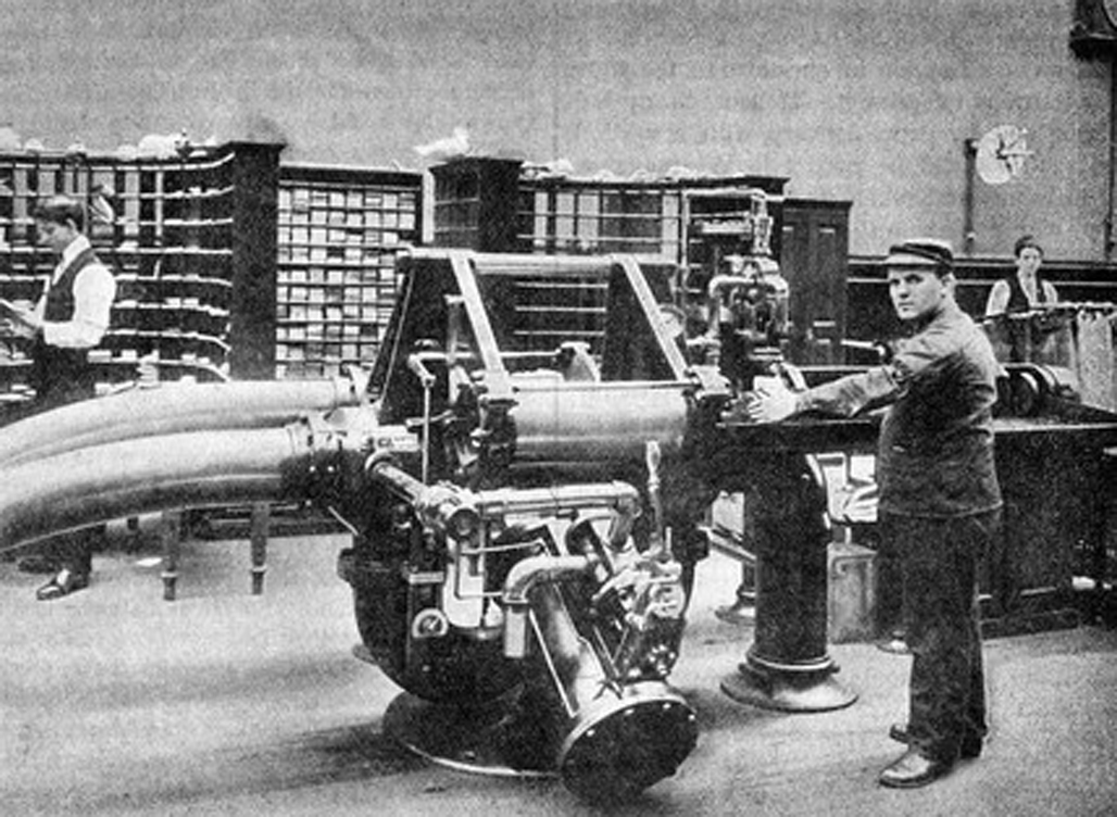 Car Manufacturers Early 1900s Mail: First Pneumatic Mail Delivery In New York 1897