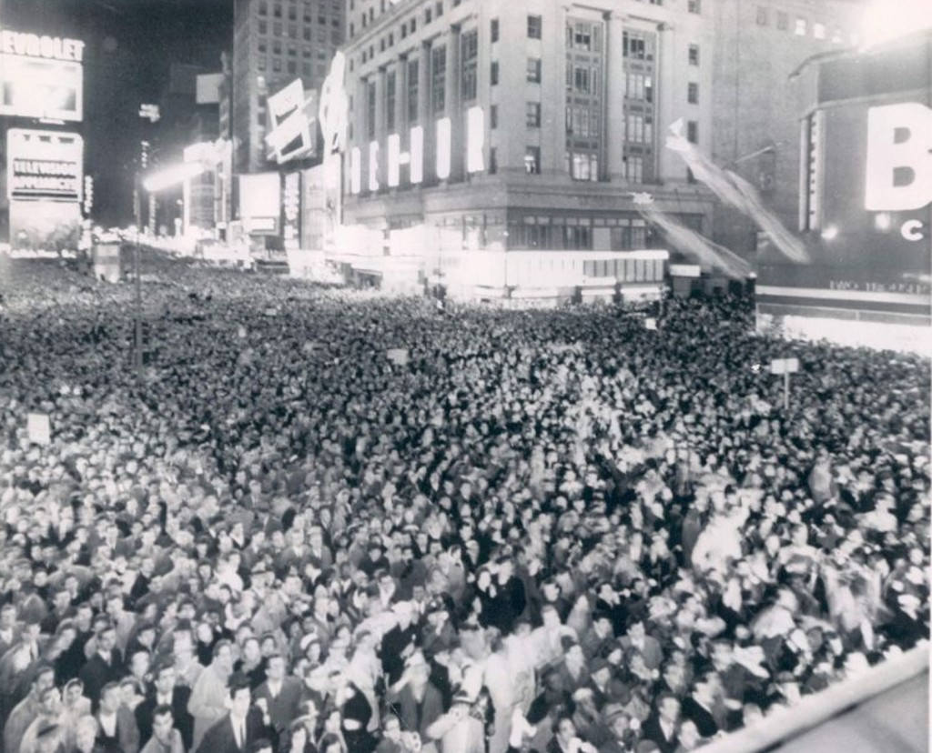 Times Square New Years Eve December 31 1959