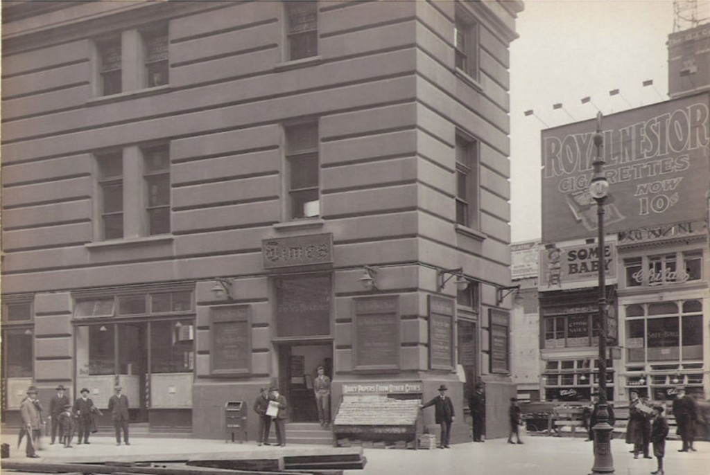 42nd st Times Building 10 3 15