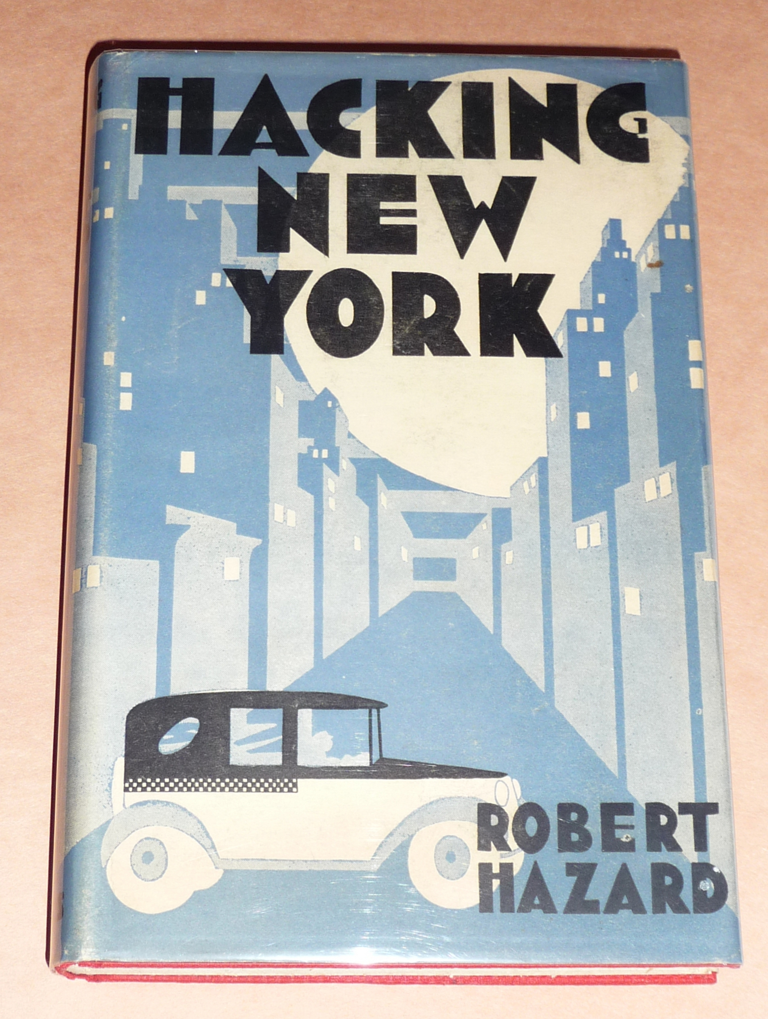 Part 4 Vintage New York City Books With Great Art Deco Dust Jackets