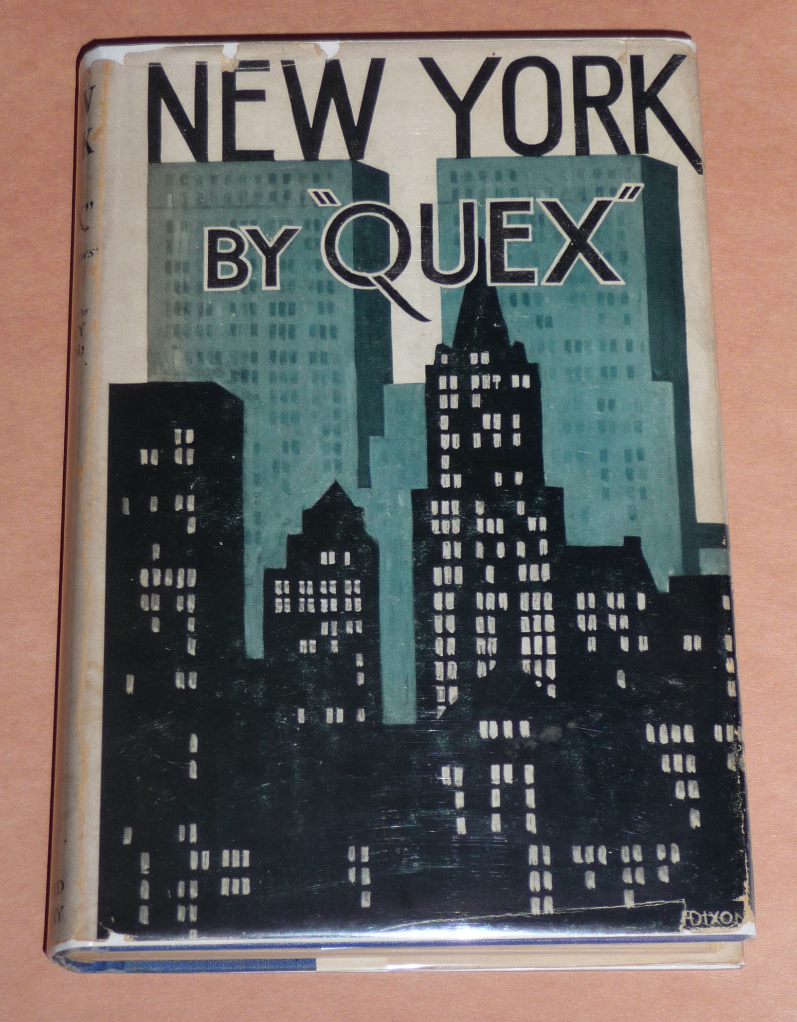 Part 1 Vintage New York City Books With Great Art Deco Dust Jackets