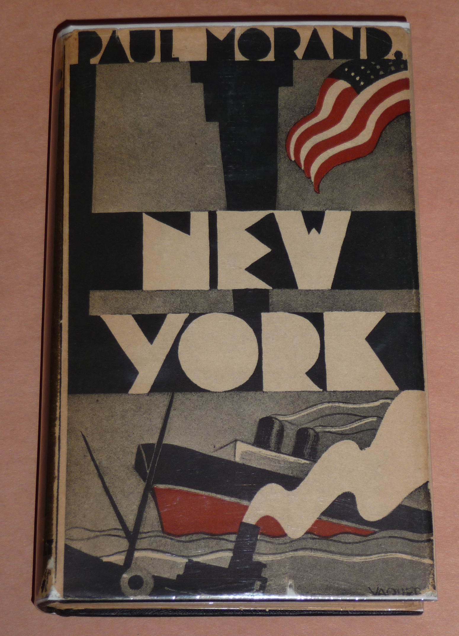 Part 2 More Vintage New York City Books With Great Art Deco Dust Jackets