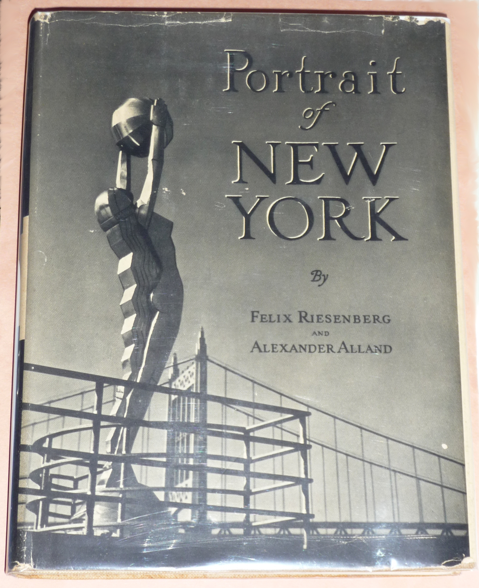 Vintage new york city books with great art deco dust for Deco new york