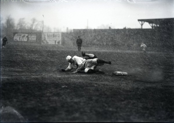 Detroit Tigers Play in Snowstorm 1911 a