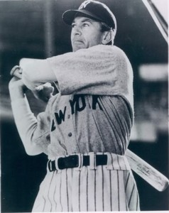 Gary Cooper Pride Swinging Left Handed