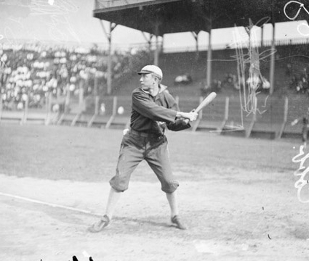 Ty Cobb 1907 Southside Park Chicago Daily News