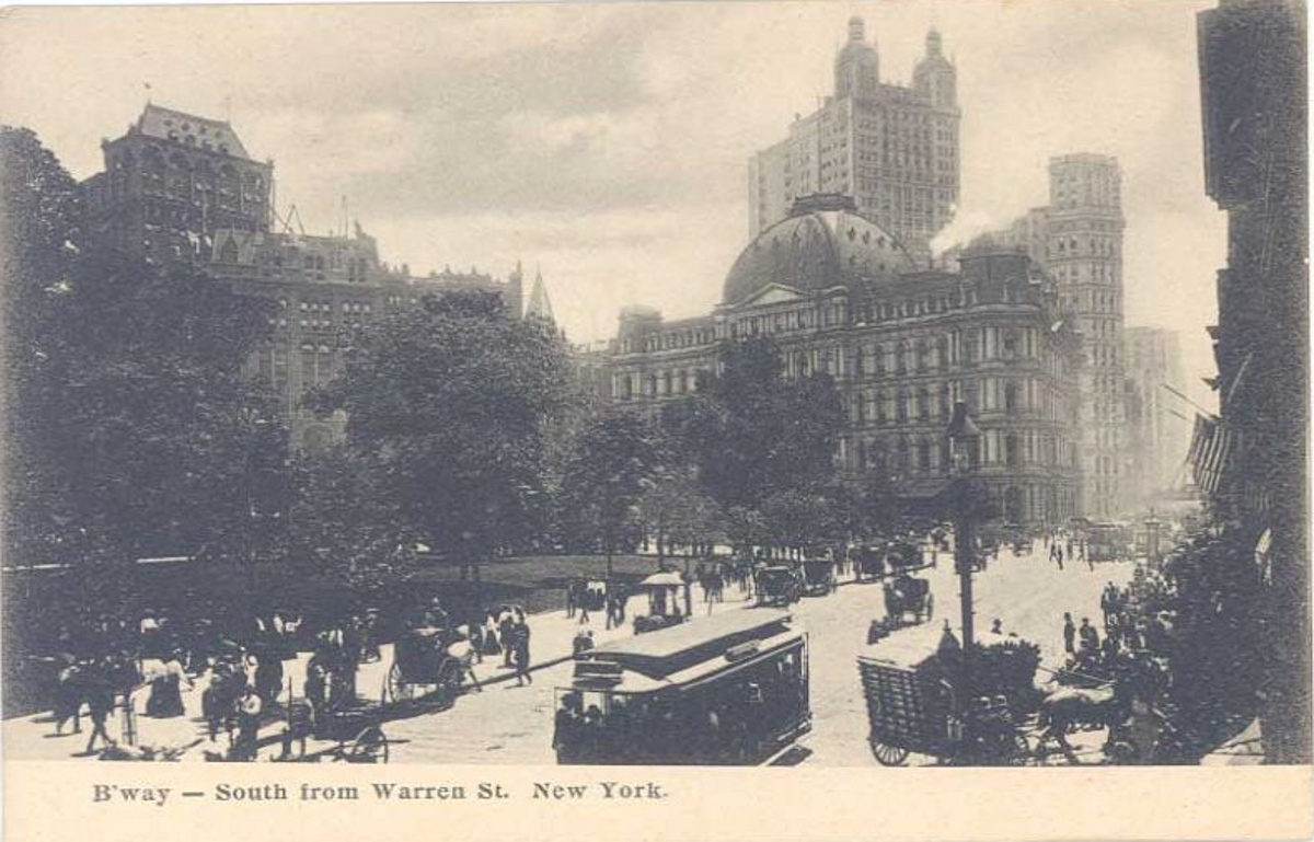 Old New York in Postcards #5 – Broadway & Fifth Avenue