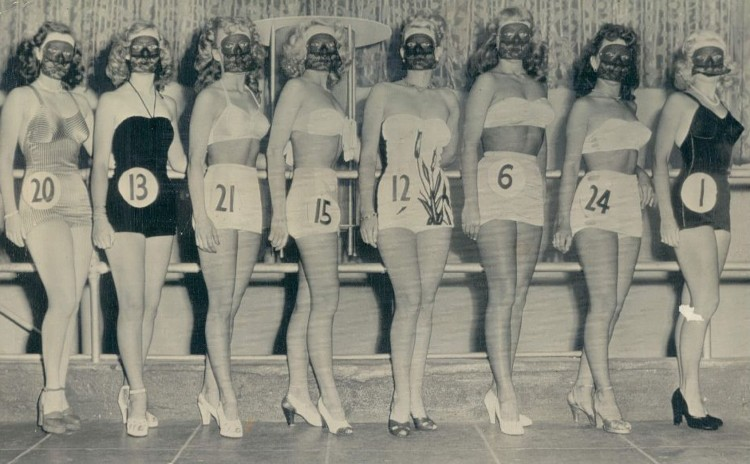 Best Legs Contest Ocean Park CA July 27 1948