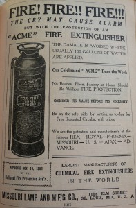 1910 World Almanac Acme Fire Extinguisher P1060728