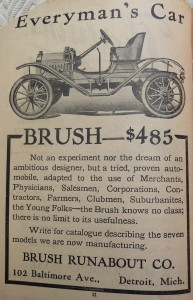 1910 World Almanac Brush Automobile P1060721