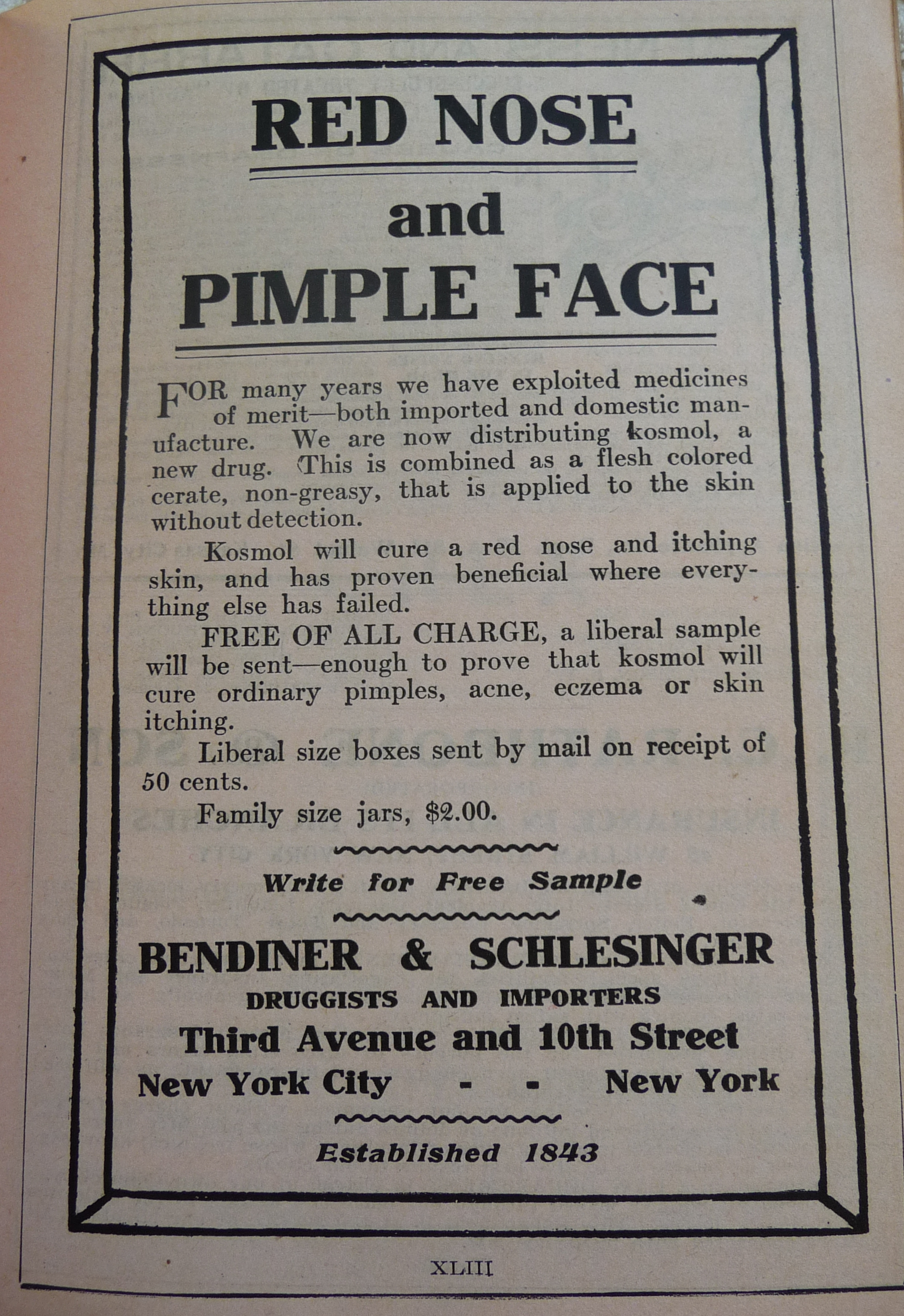 Old Time Ads From The 1910 World Almanac – Part 1