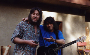 Andy Johns with Eddie Van Halen © Getty Images
