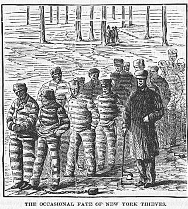 Crime In New York In 1852