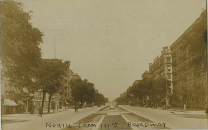 Broadway and 141st Street Looking North circa 1903