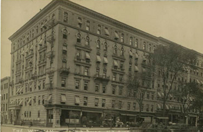 New York City Rare Postcard Views Of The Upper West Side