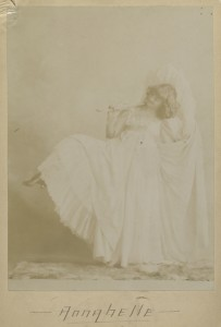 Gibson Girl Annabelle Moore Whitford Buchan Cabinet Card 2
