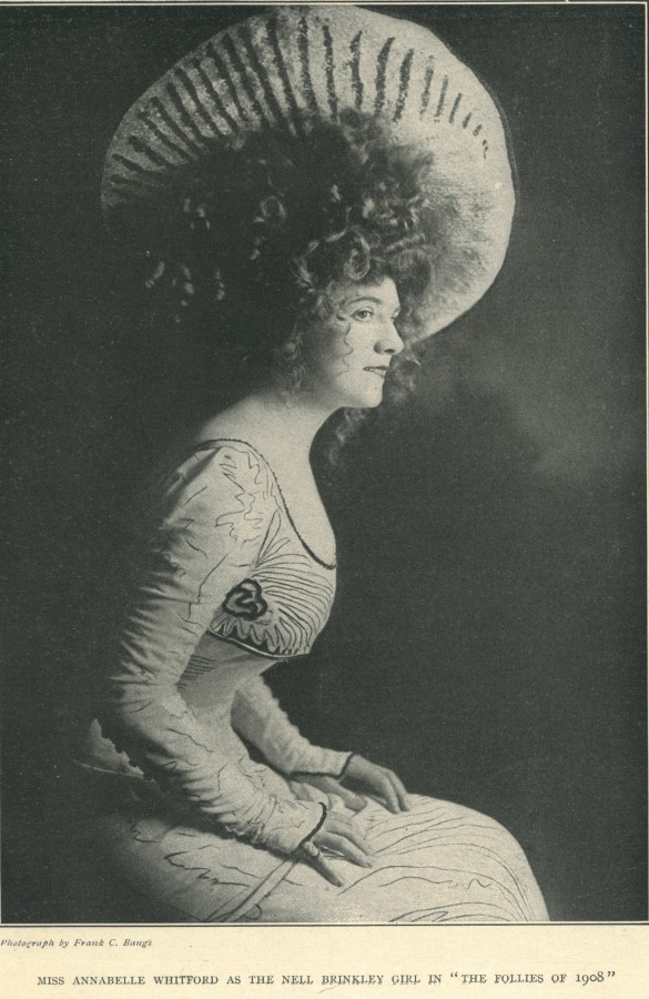 Gibson Girl Annabelle Moore Whitford Buchan Follies 1908
