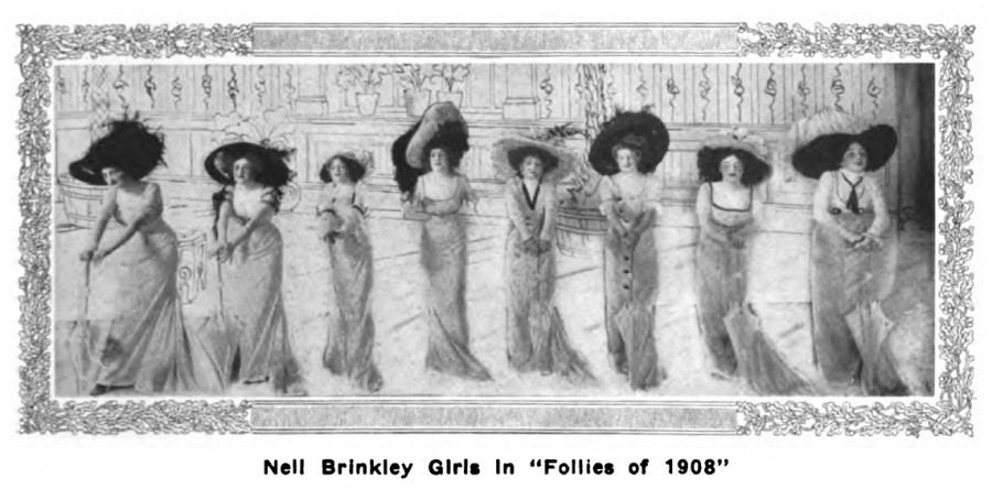 Gibson Girl Annabelle Moore Whitford Buchan Nell Brinkley Girls Follies 1908