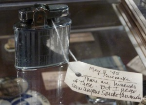 "May 5, 1945 - Pacemaker ""There are hundreds of these. But I never saw anyone smoke this much"""
