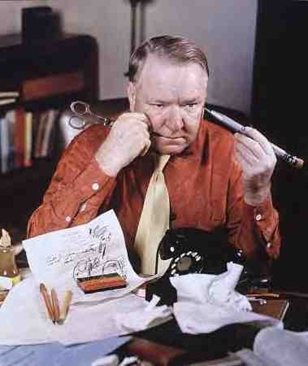Classic Hollywood #24 - W.C. Fields In Color