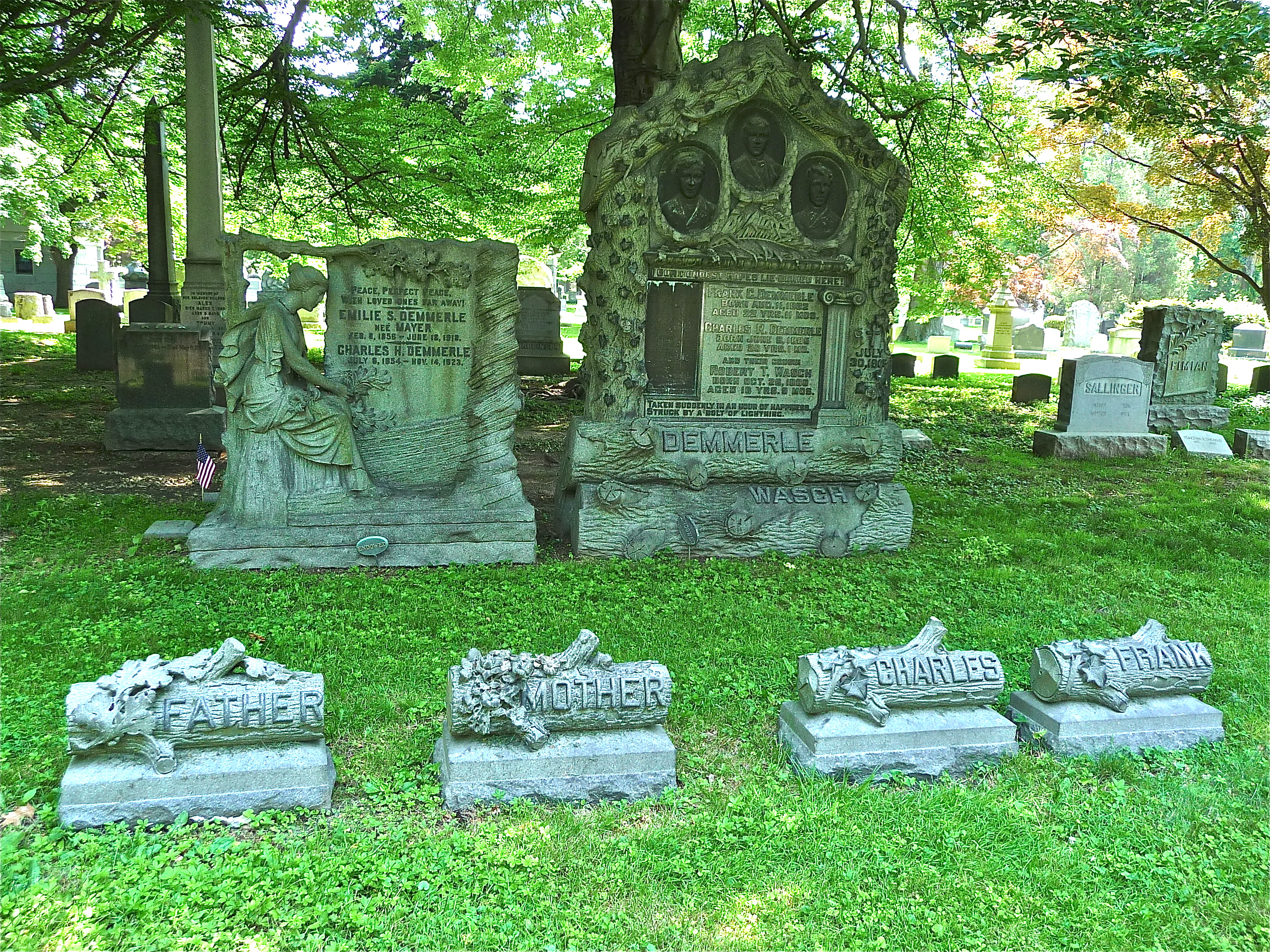 Woodlawn Cemetery Memorial Tells A Coney Island Story Of Unusual Death
