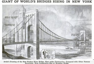 George Washington Bridge Original Design