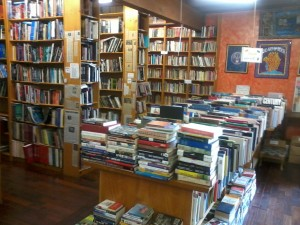 Interior of Iliad Bookshop North Hollywood California