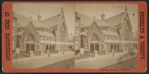Talamge's Brooklyn Tabernacle courtesy New York Public Library