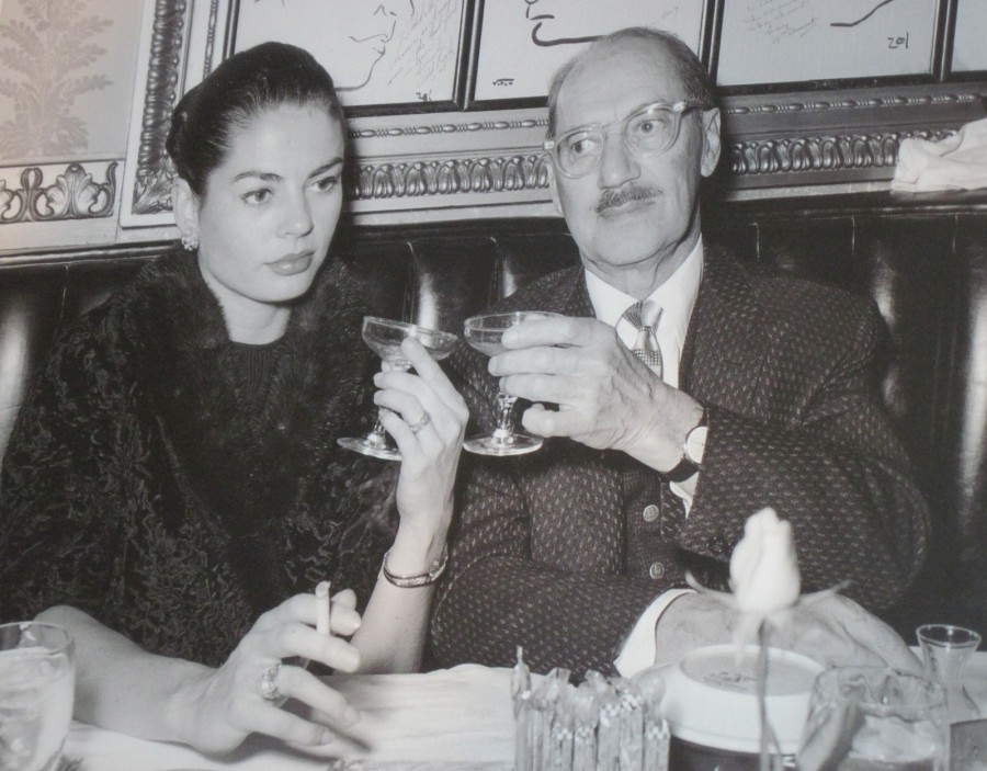 Groucho and Eden at Brown Derby