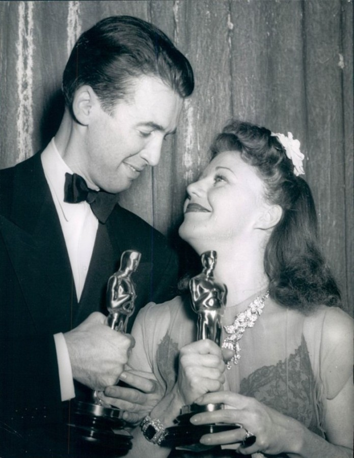 James Stewart Ginger Rogers Oscars 1941