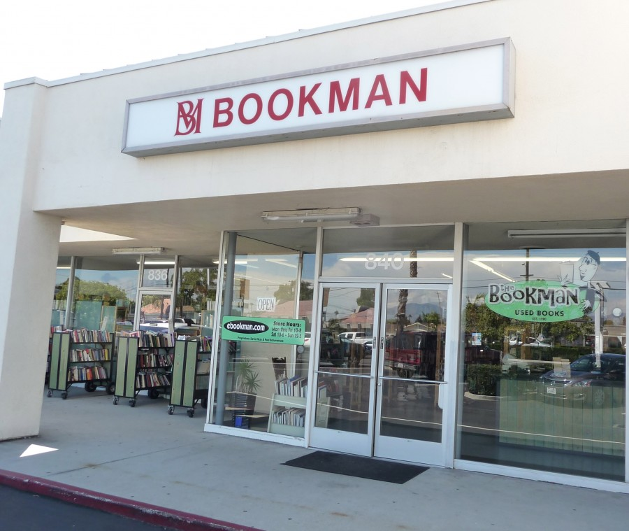 The Bookman Exterior Orange CA