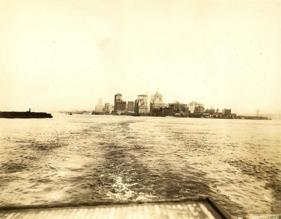 1916 New York Skyline