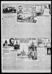 Burlington Weekly Free Press April 15, 1915 - click to enlarge