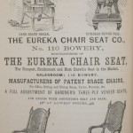 Eureka Chair Co. Ad 1874