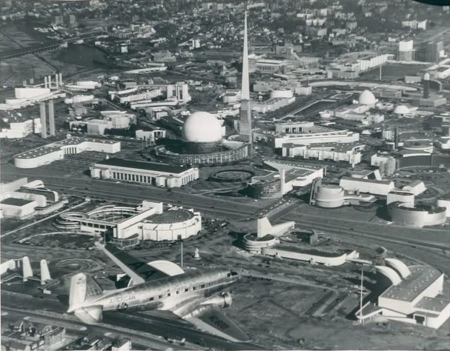 1939 World Fair Aerial