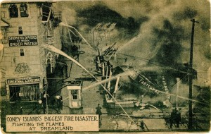 Coney Island Dreamland Fire Disaster 1